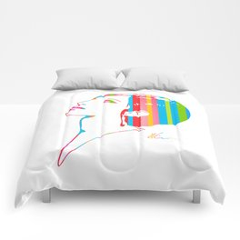 Barbra Streisand   Pop Art Comforters