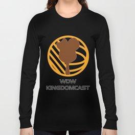 *FOR DARK SHIRTS* WDW Kingdomcast - Classic logo Long Sleeve T-shirt
