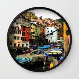 Cinque Terre - Riomaggiore Wall Clock