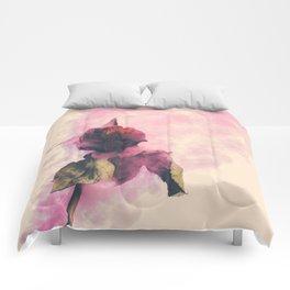 Rose and Smoke Romance Comforters