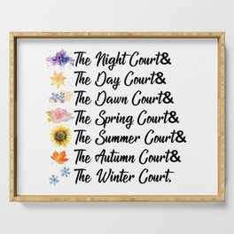 ACOTAR Courts Serving Tray