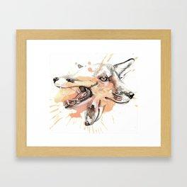 Foxxx Framed Art Print