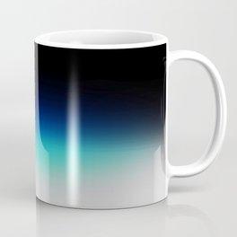 Blue Gray Black Ombre Coffee Mug