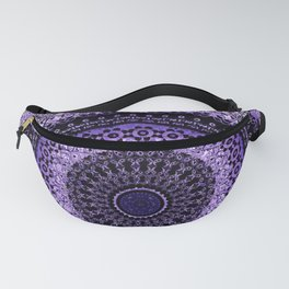 Purple Tapestry Mandala Fanny Pack