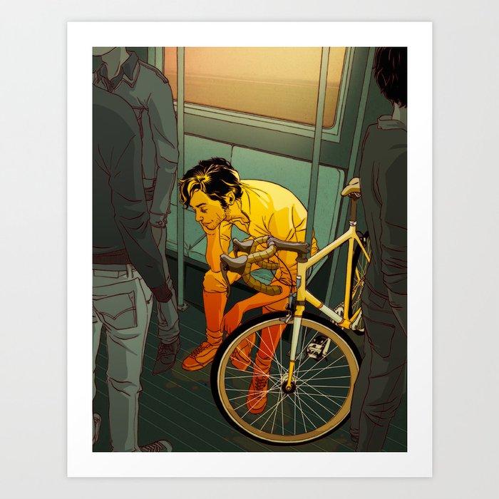 The Ride (2009) Art Print