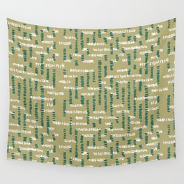Tribal Maze Wall Tapestry