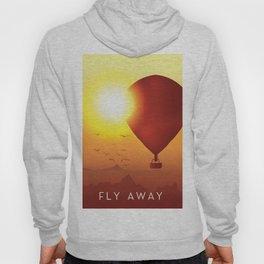Fly Away on a Balloon Hoody