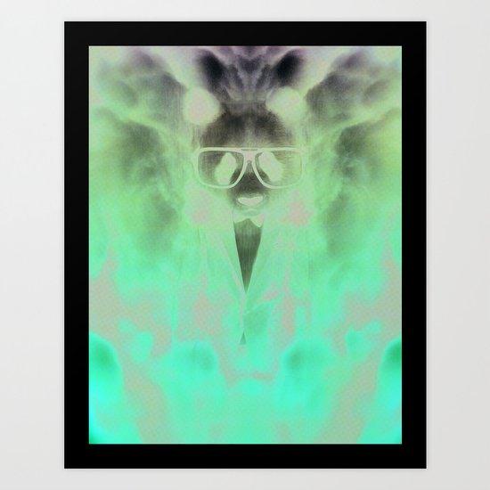 Nyko Panda Art Print
