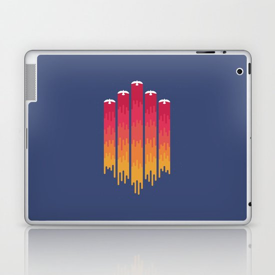 Break the Night with Color Laptop & iPad Skin
