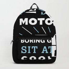 Cool Granddad's drive a Motorhome (Gift) Backpack