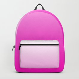 White and Pink Gradient 043 Backpack
