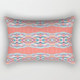 Arizona Rocks Pattern Rectangular Pillow
