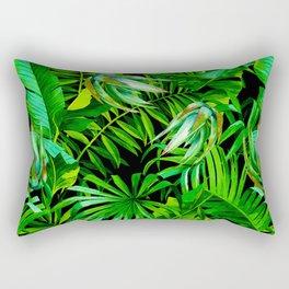 Palm Pattern Rectangular Pillow