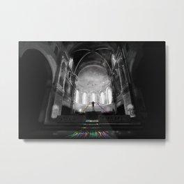 Lost Cathedral Metal Print