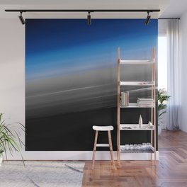 Blue Gray Smooth Ombre Wall Mural