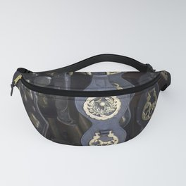 Antique Saddle Buckles Fanny Pack