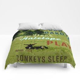 Where the Donkeys Sleep Comforters