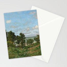 Claude Monet - Coastal landscape Stationery Cards