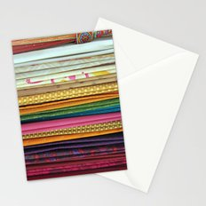 indian sarees Stationery Cards