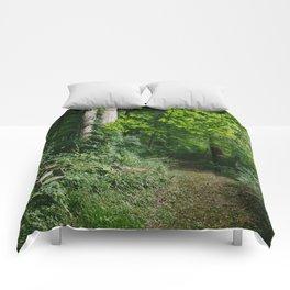 Relaxing in the Woods // Ohio Comforters