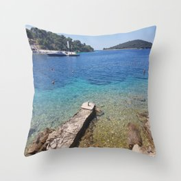 Beach Vacation Stunning Exceptional Throw Pillow