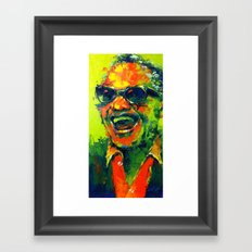 Laughed Ray Framed Art Print