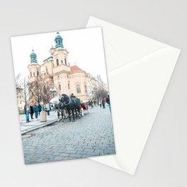 Travel photography print - Prague Czech Republic -  Stationery Cards