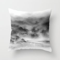 Before the storm Throw Pillow