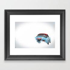 Jean-Pierre Nicolas-Vincent Laverne, Renault Alpine A110, 1975 Rally Monte Carlo Framed Art Print
