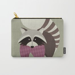 Hello Raccoon Carry-All Pouch