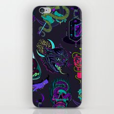 Neon Demons iPhone & iPod Skin