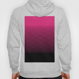 Magenta to Black Ombre Signal Hoody