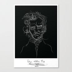 edgarBlack Canvas Print