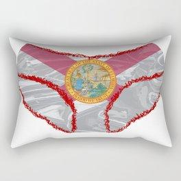 Florida Flag Knickers Rectangular Pillow