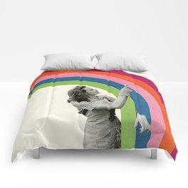 Paint a Rainbow Comforters