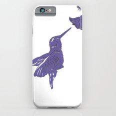 Lavender Hummingbird Papercut Slim Case iPhone 6s