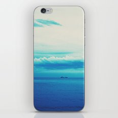 dark blue day iPhone & iPod Skin