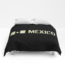 Mexican Flag: Mexico Comforters