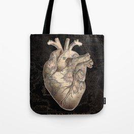 adventure heart-world map Tote Bag