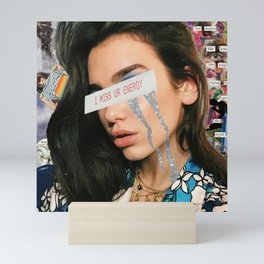 Sad Girl Dua Mini Art Print