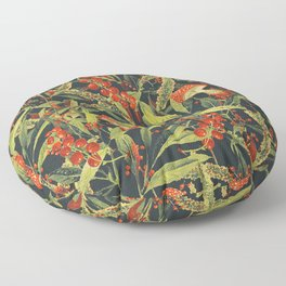Vintage Garden 18 (Sacred Forest) Floor Pillow