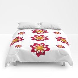 Dahlia Pinwheels Comforters