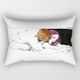 PinkHair Rectangular Pillow