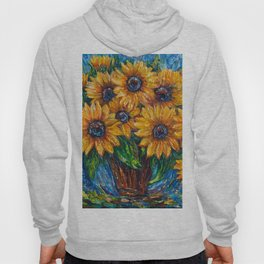 Sunflowers in a Vase 2 Hoody