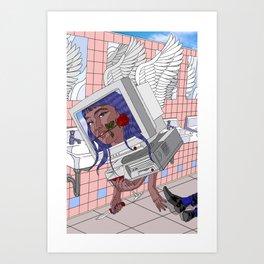 Ok Bye. Art Print