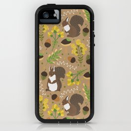 Chocolate squirrels iPhone Case