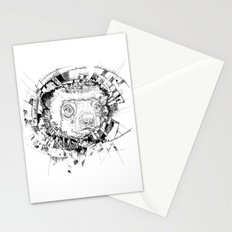 HYPNOTIZED Lemur Stationery Cards