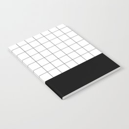 Scandi Grid Sq B Notebook