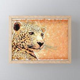 Painted Predator Framed Mini Art Print