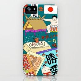 Sumo Print iPhone Case